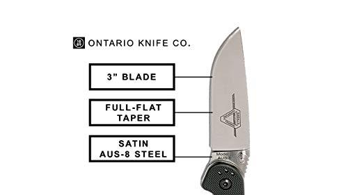 Ontario Knife Company  2 Ontario Knife OKC Rat Ii Sp-Black Folding Knife