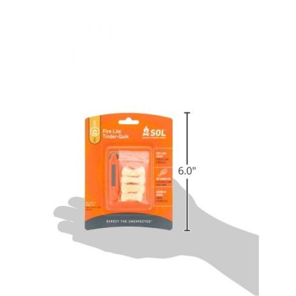Adventure Medical Kits Survival Fire Starter 4 Adventure Medical Kits SOL Fire Lite with Tinder-Quik