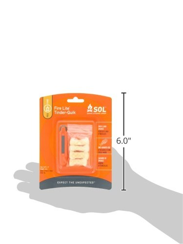 Adventure Medical Kits  4 Adventure Medical Kits SOL Fire Lite with Tinder-Quik