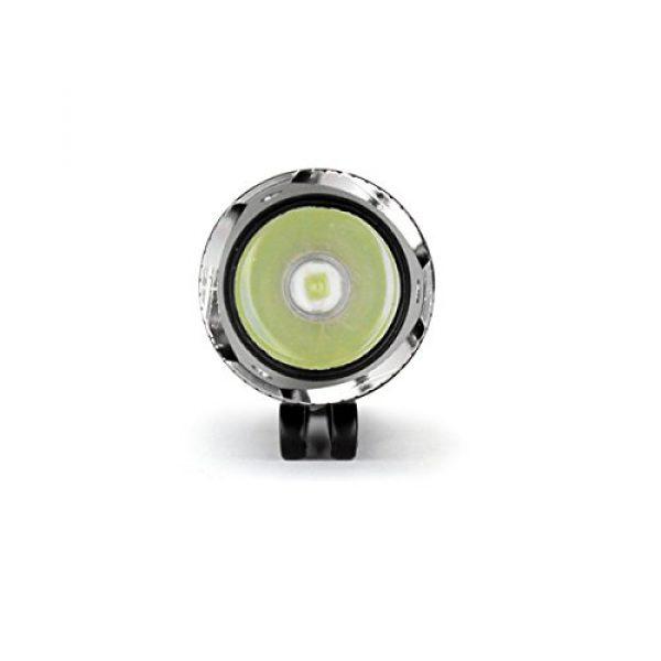 NEBO Survival Flashlight 4 NEBO 5872 CSI Edge 90 Lumens Aluminum LED Flashlight 5872 with 2X Extra Energizer AA Batteries