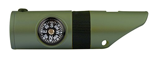 SE  6 SE 7-IN-1 Green Survival Whistle - CCH7-1G