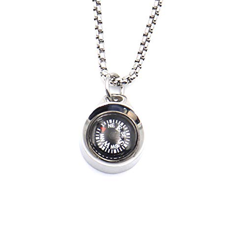 Navigation Compass Necklace for Women Men Best Friends