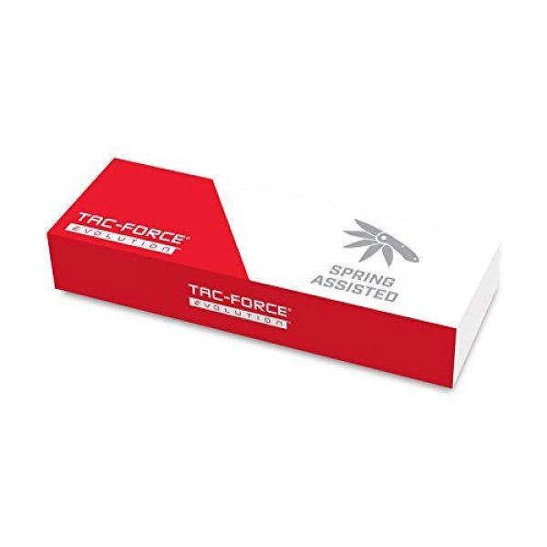 Tac Force Evolution Folding Survival Knife 6 Tac Force Evolution Spring Assisted Knife - TFE-A019T-BGN