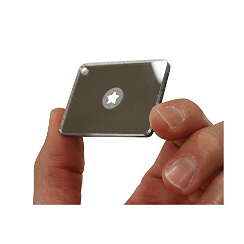 """Ultimate Survival Technologies  4 Ultimate Survival Technologies StarFlash Micro Signal Mirror 2""""x1.5"""" (3-Pack)"""