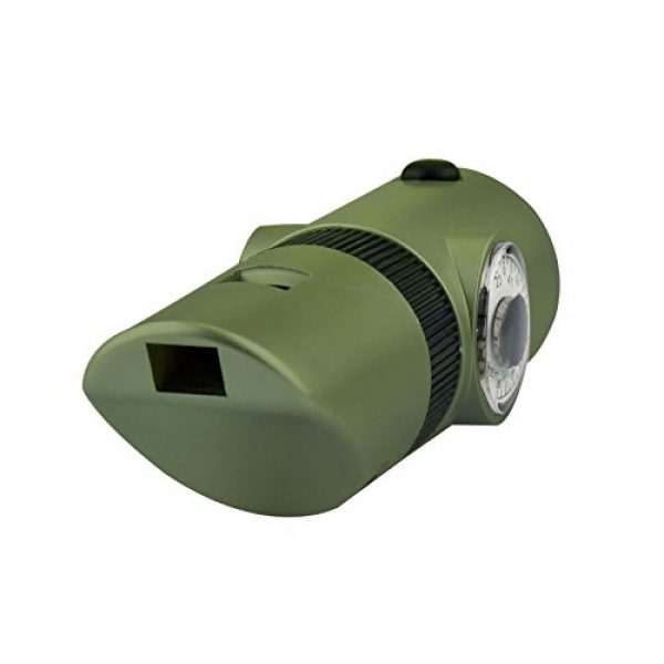 SE Survival Whistle 5 SE 7-IN-1 Green Survival Whistle - CCH7-1G