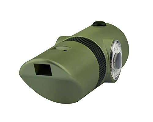 SE  5 SE 7-IN-1 Green Survival Whistle - CCH7-1G