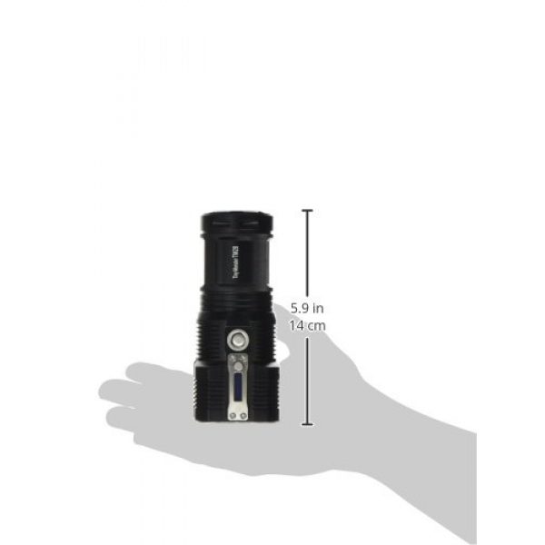 Nitecore Survival Flashlight 7 Nitecore TM28 Tiny Monster 6000 Lumen QuadRay Rechargeable Flashlight