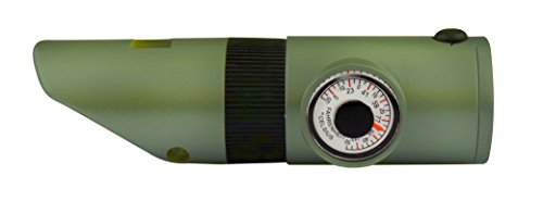 SE  7 SE 7-IN-1 Green Survival Whistle - CCH7-1G