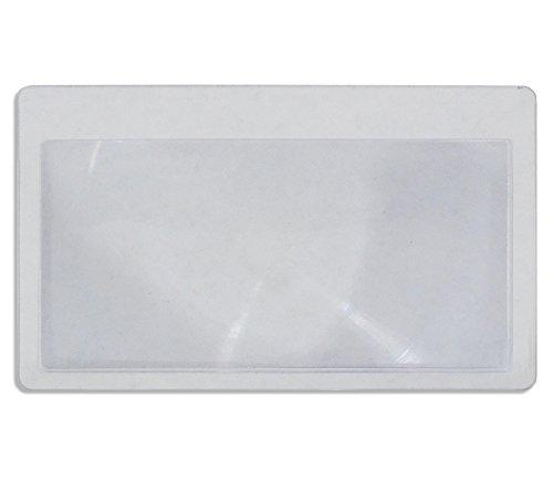 5col Survival Supply  2 5col Survival Supply Fresnel Lens 4-Pack Credit Card Size Pocket Magnifier & Firestarter