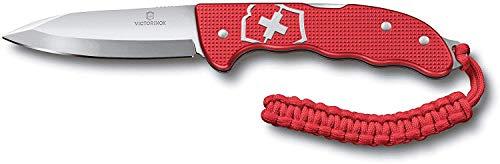 Victorinox  4 Victorinox Hunter Pro M Alox Folding Knife Red Aluminium Handle - Red