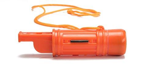 SE  5 SE 5-in-1 Survival Whistles (2-Pack) - CCH5-1-2