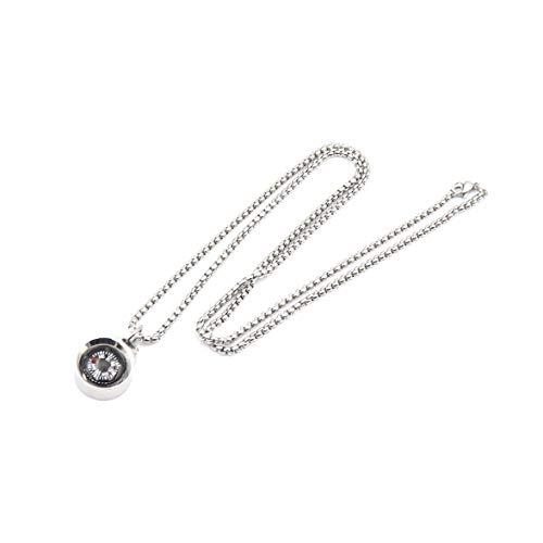 DETUCK  2 DETUCK(TM Silver Compass Necklace