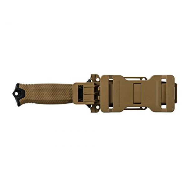 Gerber Gear Fixed Blade Survival Knife 4 Gerber StrongArm Fixed Blade Knife with Fine Edge - Coyote Brown