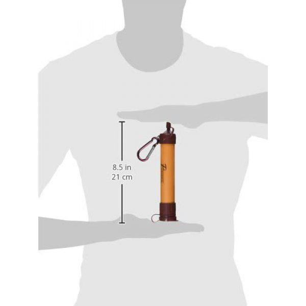 Pursonic Survival Water Filter 3 Pursonic SS1 Survivor Straw Personal Water Filter