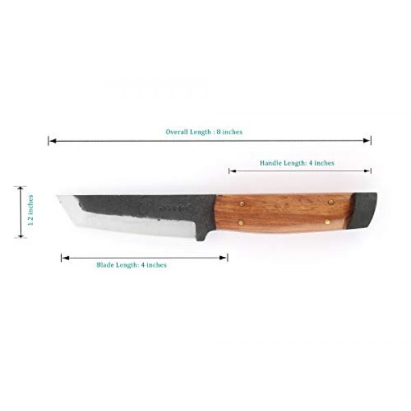 Perkin Fixed Blade Survival Knife 5 Perkin PK800 Hunting Knife with Sheath Fixed Blade Knife