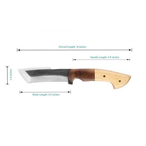 Perkin Fixed Blade Survival Knife 5 Perkin PK999 Hunting Knife with Sheath Fix Blade Knife Tanto Blade