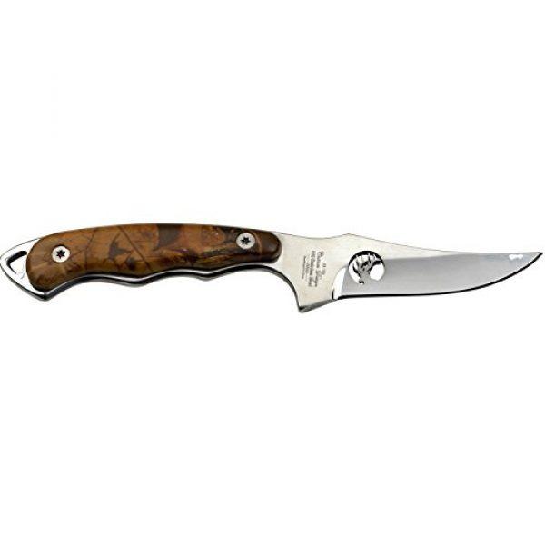 Elk Ridge Fixed Blade Survival Knife 2 Elk Ridge ER-059 Series Fixed Blade Hunting Knife, Straight Edge Blade, Wood Handle, 7-Inch Length