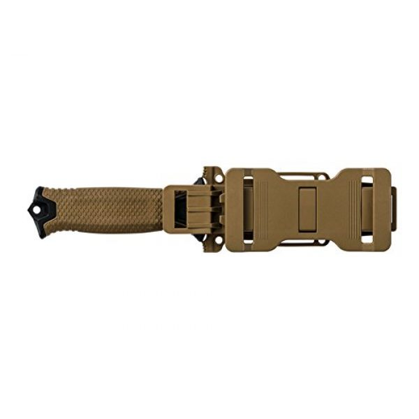 Gerber Gear Fixed Blade Survival Knife 4 Gerber StrongArm Fixed Blade Knife with Serrated Edge - Coyote Brown