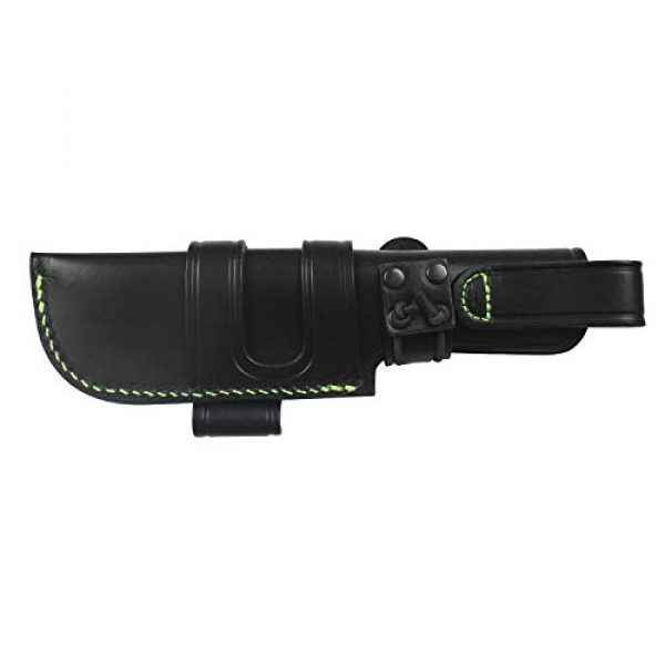 iFIELD Fixed Blade Survival Knife 4 iFIELD Survival Knife Workout, 4.3 inch MOVA Blade, 4.9 inch, with Nylon Tactical Sheath, Camping Tool for Fishing, Hunting, Sport Activity.