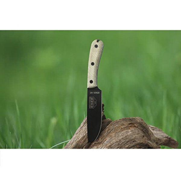 ESEE Folding Survival Knife 4 ES6HMK-BRK Model 6 Traditional Handle