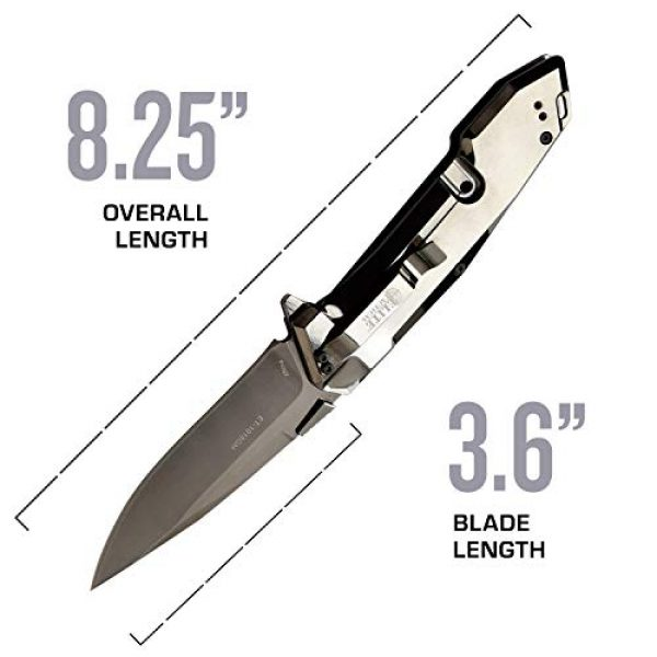 Elite Tactical Folding Survival Knife 4 Elite Tactical Folding Knife - ET-1018GM