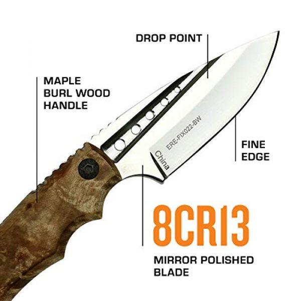 Elk Ridge Evolution Fixed Blade Survival Knife 3 Elk Ridge Evolution Fixed Blade Knife - ERE-FIX022-BW