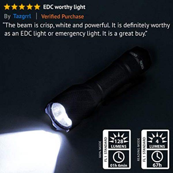 SOG Survival Flashlight 3 SOG CREE LED Tactical Flashlight - Dark Energy Waterproof Flashlight, Camping Flashlights, EDC Flashlight with 5 High Power Flashlight Modes (DE-03)