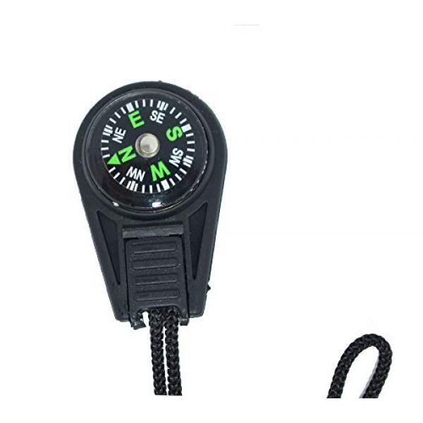 Bytiyar Survival Compass 4 Bytiyar 20 pcs Small Plastic Liquid Filled Compass Keychain Lanyard Hook Survival Kit for Backpack
