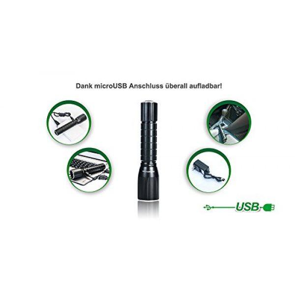 NEXTORCH Survival Flashlight 6 NEXTORCH myTorch S 18650 660 lumens USB Rechargeable LED Flashlight Unlimited Modes