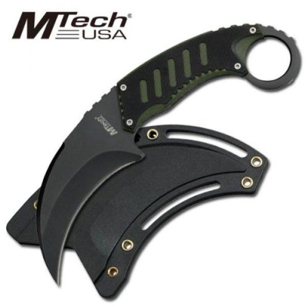 MTECH USA Fixed Blade Survival Knife 3 MTECH USA MT-665BG Neck Knife 7.5-Inch Overall
