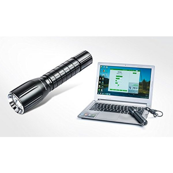 NEXTORCH Survival Flashlight 2 NEXTORCH myTorch S 18650 660 lumens USB Rechargeable LED Flashlight Unlimited Modes