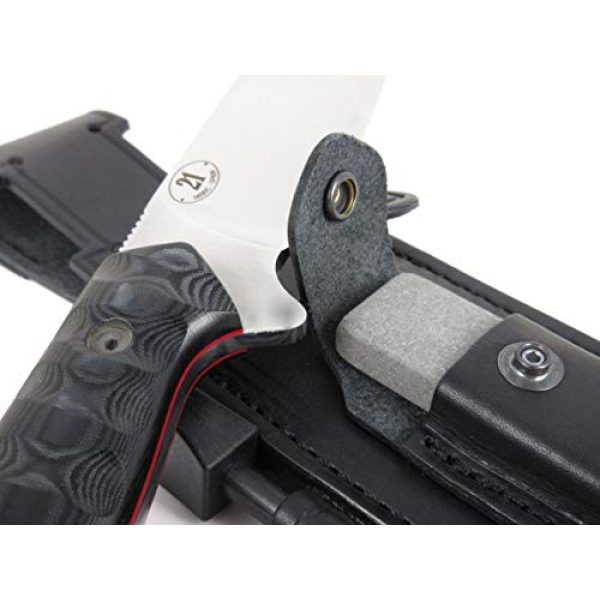 JEO-TEC Fixed Blade Survival Knife 4 JEO-TEC N21 Bushcraft Survival Hunting Knife - BOHLER N690C Stainless Steel, Multi-positioned Sheath - Handmade