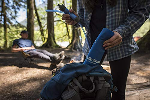 LifeStraw  3 LifeStraw Flex Advanced Water Filter with Gravity Bag - Removes Lead