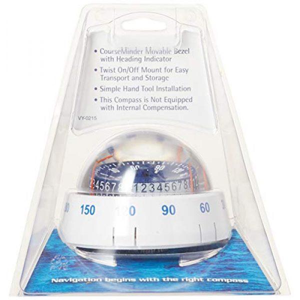 Ritchie Navigation Survival Compass 3 Ritchie Navigation XP-98W X-Port Tactician Surface Mount Compass, White with Blue Dial