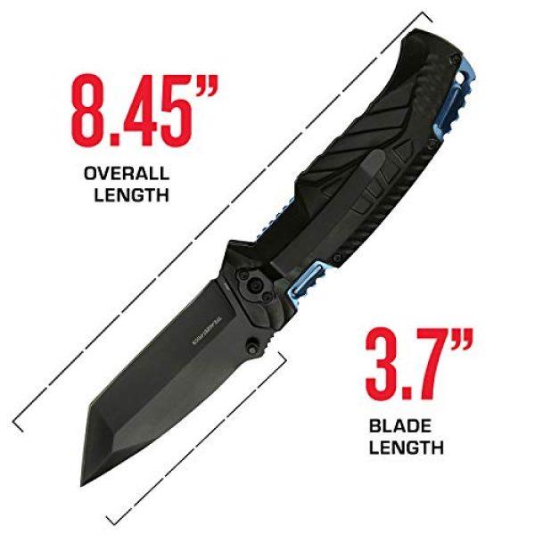Tac Force Evolution Folding Survival Knife 4 Tac Force Evolution Spring Assisted Knife - TFE-A028T-PD