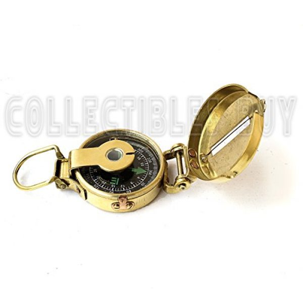 collectiblesBuy Survival Compass 2 collectiblesBuy Vintage Old Style Military Compass Nautical Pocket Shiny Brass Navigational Instrument