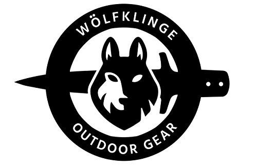 WolfKlinge  2 WolfKlinge DCX17-76 Handmade Damascus Steel Pocket Folding Knife