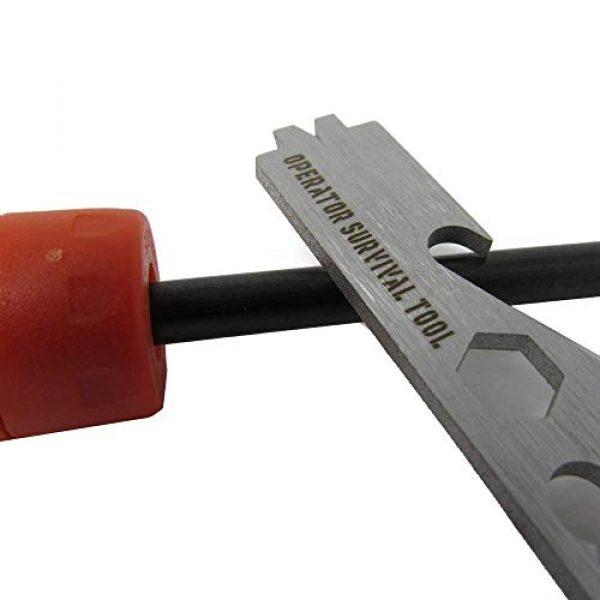 Operator Survival Tool Survival Fire Starter 2 O.S.T. - Operator Survival Tool O.S.T. - gun cleaning tool, carbon scraper, fire starter, knife sharpener