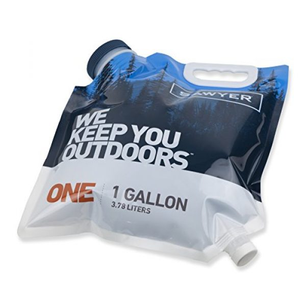 Sawyer Products Survival Water Filter 2 Sawyer Products Water Bladder for MINI and Squeeze Filters