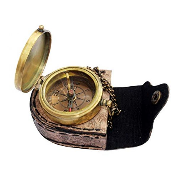 MAH Survival Compass 2 MAH It's Better to Walk Alone , Camping Compass Engraved with Gift Compass for Christmas. C-3142