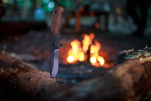 Unilove  5 Unilove Folding Knife Pocket Knife Outdoor Survival Knife Tactical Knife with Sheath for Camping Hunting Survival and Outdoor