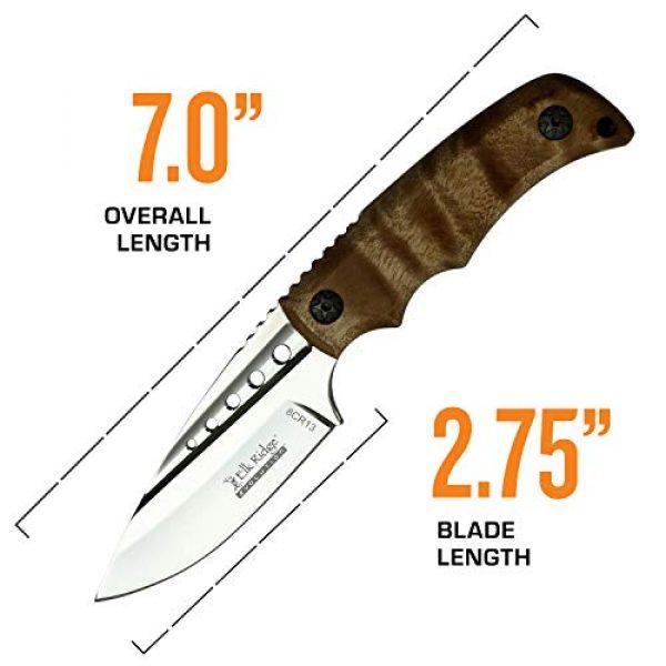 Elk Ridge Evolution Fixed Blade Survival Knife 4 Elk Ridge Evolution Fixed Blade Knife - ERE-FIX022-BW