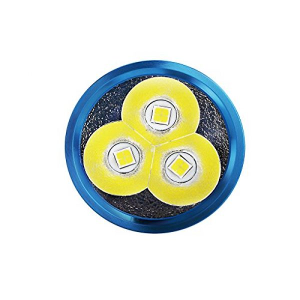 OLIGHT Survival Flashlight 4 OLIGHT X7 Marauder CREE XHP70 CW LED Flashlight, 9000 Lumens, IPX8 Waterproof, Cool White