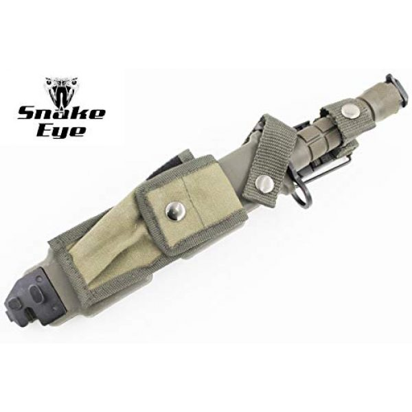 Snake Eye Tactical Fixed Blade Survival Knife 2 Snake Eye Tactical M9 Bayonet Military Knife