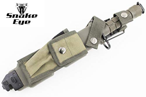 Snake Eye Tactical  2 Snake Eye Tactical M9 Bayonet Military Knife