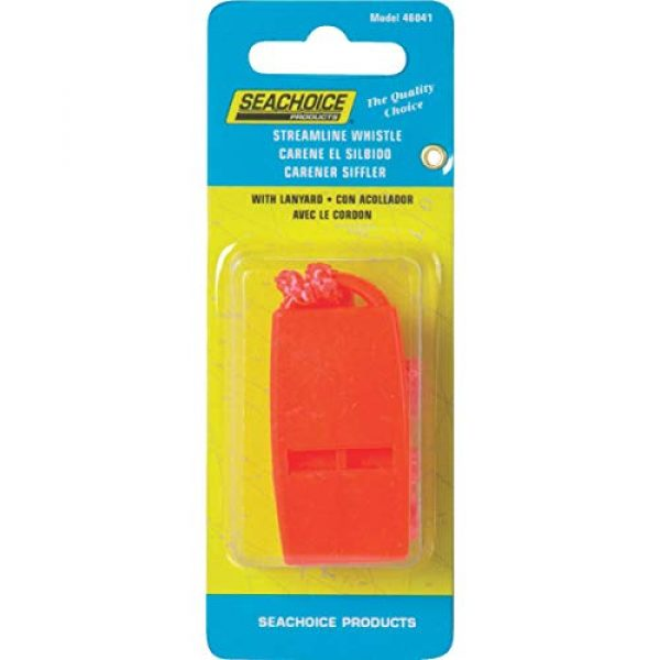 SEACHOICE Survival Whistle 2 Seachoice Prod 46041 Whistle