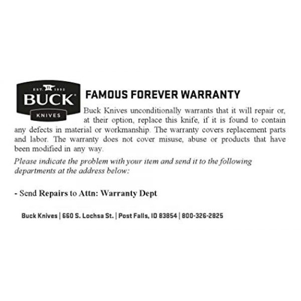 Buck Knives Fixed Blade Survival Knife 4 Buck Knives 124 Frontiersman Fixed Blade Knife, 6 1/4-Inch BOS 5160 Carbon Steel, Leather Sheath 0124CCSSH