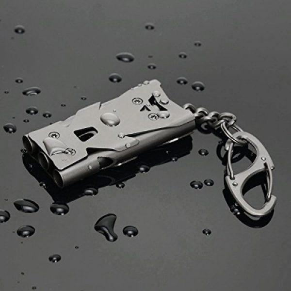Binboll Survival Whistle 2 Binboll Whistle Emergency Whistles Keychain Rape Whistle Stainless Steel High Decibel Whistles