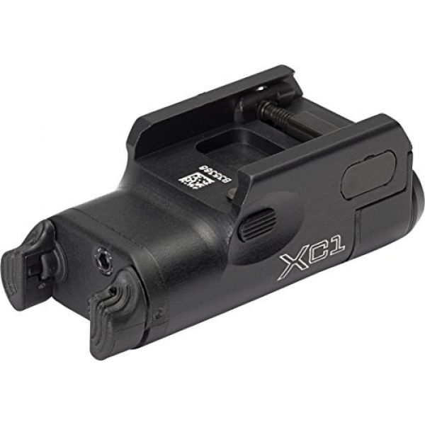 SureFire Survival Flashlight 2 SureFire Weaponlights Compact Handgun Light with Improved Constant-On Activation Switches