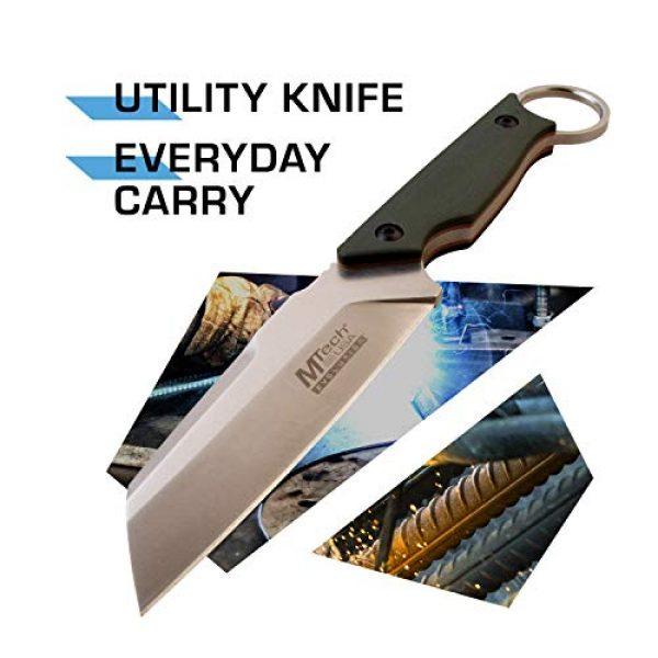MTECH USA EVOLUTION Fixed Blade Survival Knife 2 MTech Evolution Tactical Fixed Blade Knife - MTE-FIX011-GN
